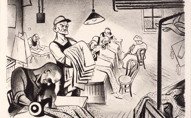 © 1934, William Gropper