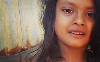 Rohingya girl at Kutupalong camp (photo: Adnan R Amin)